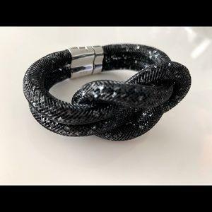 Stardust rare black bracelet by Swarovski